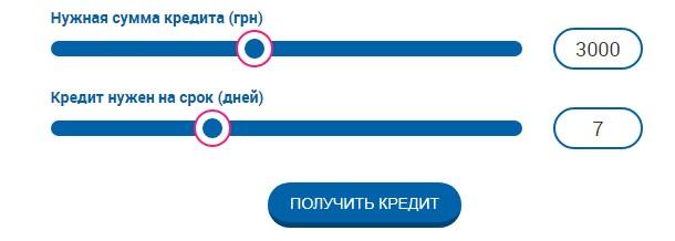 Подобрать лучший кредит в Украине