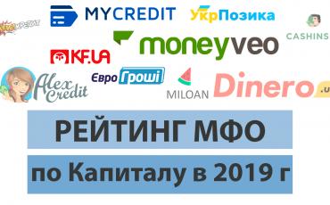 ТОП микрокредитных компаний в Украине - капитал